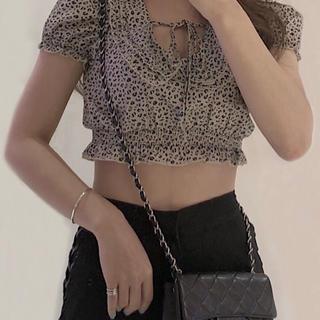 Bubbles - melt the lady leopard mellow blouse