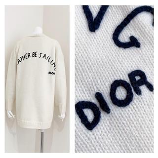 クリスチャンディオール(Christian Dior)のChristian Dior   美品 刺繍 セーター(ニット/セーター)