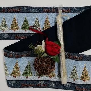 ローラアシュレイ(LAURA ASHLEY)のローラアシュレイ クリスマス アドベント キャンドル オーナメント 飾り(その他)