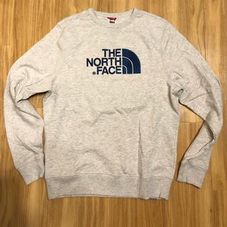 ザノースフェイス(THE NORTH FACE)のthe north face スウェット ライトグレー Mサイズ(スウェット)