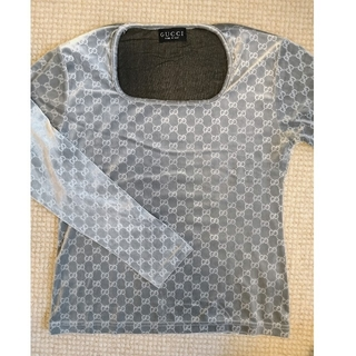 グッチ(Gucci)のGUCCI グッチ レディース長袖シャツ(Tシャツ(長袖/七分))