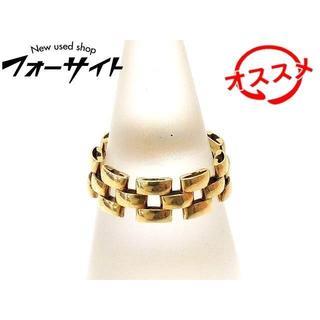グッチ(Gucci)のK18 YG イエローゴールド リング ■ 12号 チェーン(リング(指輪))