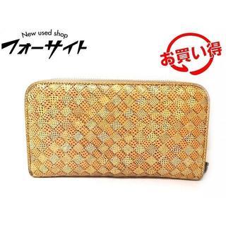 ボッテガヴェネタ(Bottega Veneta)のボッテガヴェネタ 財布 ■ イントレチャート ラウンドファスナー(長財布)