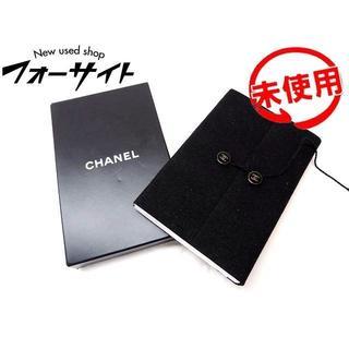 シャネル(CHANEL)の未使用品 ノベルティ シャネル ミニ ノート ■ ブラック スエード調 カバー (その他)