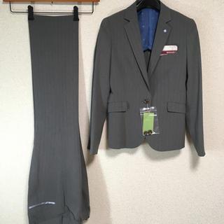 オリヒカ(ORIHICA)の【新品】オリヒカ パンツスーツ 上7下5 W68 春夏秋 グレー DMW(スーツ)