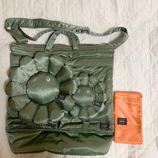 ヨシダカバン(吉田カバン)の完売 新品未使用 村上隆 x PORTER HELMET BAG お花 ポーター(トートバッグ)