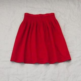 ビームス(BEAMS)のBEAMS LIGHTS size36 レッドスカート(ひざ丈スカート)