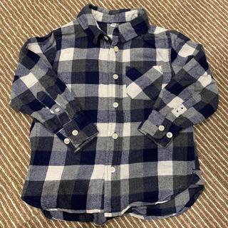 ムジルシリョウヒン(MUJI (無印良品))のネルシャツ(ブラウス)