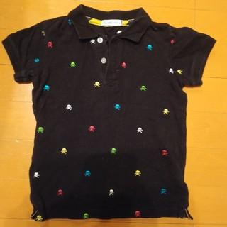 ビームス(BEAMS)のBEAMS ポロシャツ マルチカラースカル 120 130(その他)