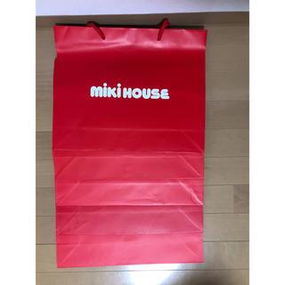 ミキハウス(mikihouse)のミキハウス ショッパー 良品5枚(ショップ袋)