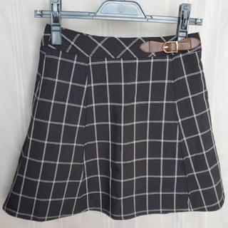 ダズリン(dazzlin)のスカート チェックスカート(ミニスカート)