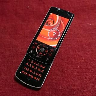 エヌティティドコモ(NTTdocomo)のドコモ D902i クールブラック ガラケー本体(携帯電話本体)