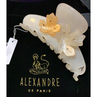 アレクサンドルドゥパリ(Alexandre de Paris)の【新品未使用】アレクサンドル ドゥ パリ FALL LEAF ヘアクリップ(バレッタ/ヘアクリップ)