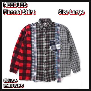 ニードルス(Needles)の【L】NEEDLES Flannel Shirt(シャツ)