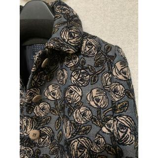 ミナペルホネン(mina perhonen)のミナペルホネン  rosy ジャケット 2020 新品 ブルー(テーラードジャケット)