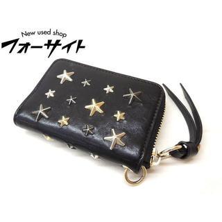 ジミーチュウ(JIMMY CHOO)のジミーチュウ カードケース ■ ラウンドファスナー(名刺入れ/定期入れ)