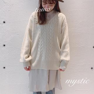 ミスティック(mystic)の新品❁ミスティック コーデSET ニット&スカート(セット/コーデ)