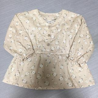 futafuta - 美品❤️テーターテート 小花柄ブラウス