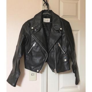 マウジー(moussy)のMOUSSY ライダースジャケット ブラック(ライダースジャケット)