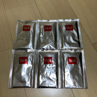エスケーツー(SK-II)のSKーII フェイシャルトリートメントマスク 6枚セット 新品 未使用(パック/フェイスマスク)
