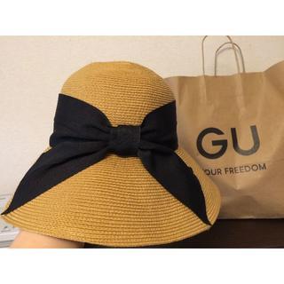 ジーユー(GU)の【中古】GU 2020年 ☆麦わら帽子(麦わら帽子/ストローハット)