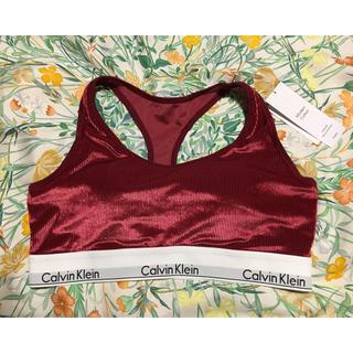 カルバンクライン(Calvin Klein)の[新品タグ付き]スポーツブラ ヨガウェア ブラトップ(ヨガ)