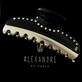 アレクサンドルドゥパリ(Alexandre de Paris)の新品☆アレクサンドル ドゥ パリ PINCES VENDOME LARGE(バレッタ/ヘアクリップ)