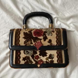 ロキエ(Lochie)のvintage velour bag(ハンドバッグ)