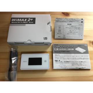 エヌイーシー(NEC)の新品同様wx06(PC周辺機器)