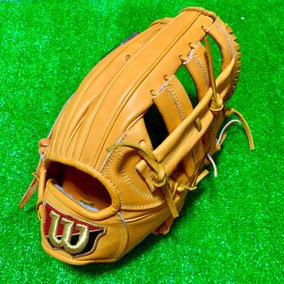 Wilson Staff - 新品 高校野球対応  日本製 ウィルソンスタッフ 硬式用 外野手用 グローブ