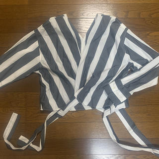 アメリカンラグシー(AMERICAN RAG CIE)のアメリカンラグシー・カシュクールストライプシャツ(シャツ/ブラウス(長袖/七分))