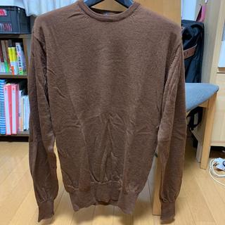 ムジルシリョウヒン(MUJI (無印良品))の無印良品 ウールセーター Lサイズ(ニット/セーター)