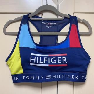 トミーヒルフィガー(TOMMY HILFIGER)のトミーヒルフィガー ブラトップ パッド入り(トレーニング用品)