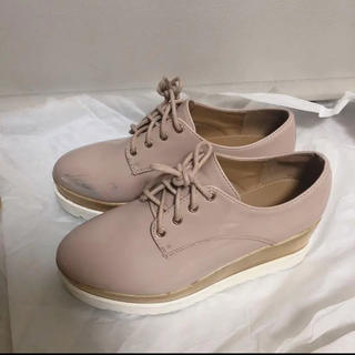 ナイスクラップ(NICE CLAUP)の【ナイスクラップ 】厚底シューズ(ローファー/革靴)