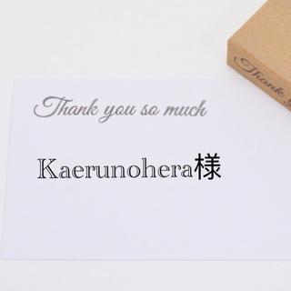 Kaerunohera様専用 (その他)