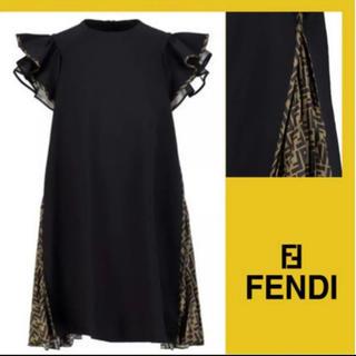 フェンディ(FENDI)の期間限定出品!FENDI格安です♡2020AW今季新作のワンピース(ミニワンピース)
