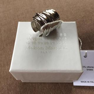 マルタンマルジェラ(Maison Martin Margiela)のS新品 メゾン マルジェラ アーマーリング 指輪 アクセサリー リング シルバー(リング(指輪))