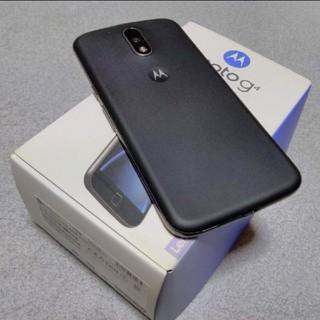 レノボ(Lenovo)のmoto g4 plus DSDS対応 SIMフリー レノボ モトローラ (スマートフォン本体)