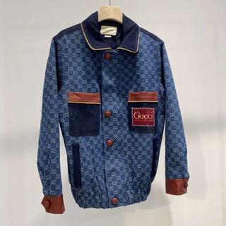 グッチ(Gucci)のGUCCI グッチ GGロゴ デニムスーツジャケット(テーラードジャケット)