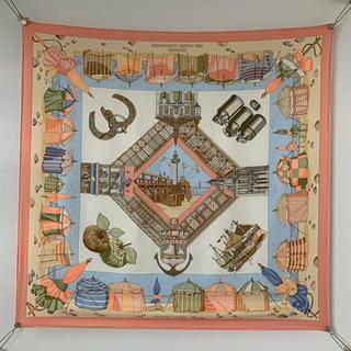 エルメス(Hermes)のHermes エルメススカーフ カレ90 ノルマンディー海岸の魅力(スカーフ)