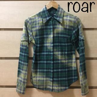 ロアー(roar)の【冬物セット割】roar ロアー 長袖 ネルシャツ チェック サイズ1(S)(シャツ)