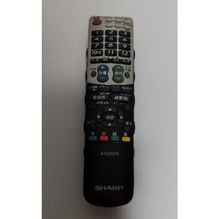アクオス(AQUOS)の・1620 GA814WJSA テレビリモコン SHARP(その他)