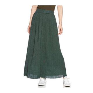 ロデオクラウンズワイドボウル(RODEO CROWNS WIDE BOWL)のRODEO ニットラメプリーツスカート(ロングスカート)