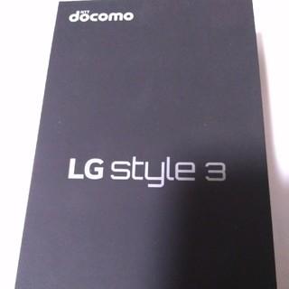LG Electronics - ドコモ LG style3 L-41A ミラーブラック