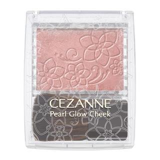 セザンヌケショウヒン(CEZANNE(セザンヌ化粧品))のセザンヌ パールグロウチーク P2 ベージュコーラル(チーク)
