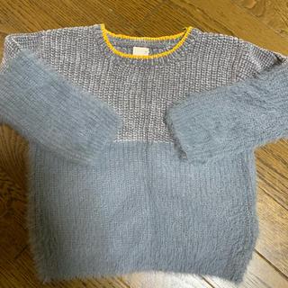 プティマイン(petit main)の数回の使用 プティマイン 男女兼用 もふもふセーター 100(ニット)