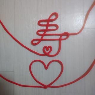 結婚式 前撮り 和装 赤い糸(和装小物)
