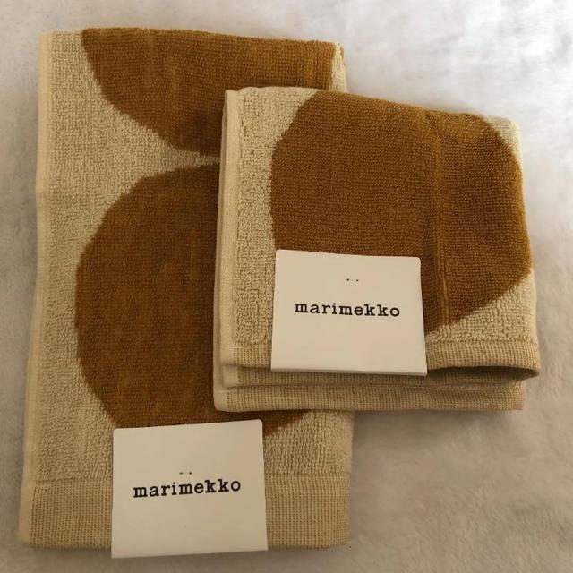 marimekko(マリメッコ)のマリメッコ タオルセット新品 インテリア/住まい/日用品の日用品/生活雑貨/旅行(タオル/バス用品)の商品写真