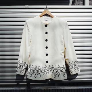 クリスチャンディオール(Christian Dior)のVintage Cord embroidered jacket by dior(テーラードジャケット)