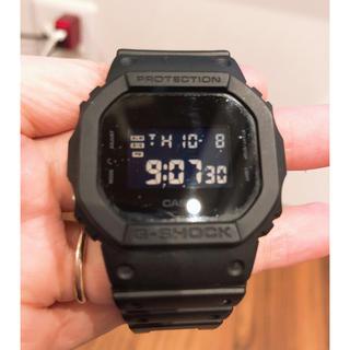 ジーショック(G-SHOCK)のG-SHOCK 腕時計 ブラック(腕時計(デジタル))